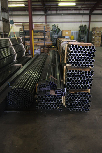 Interior Nelson Steel Products
